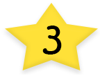 Star With Number Three