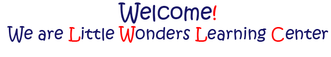 Little Wonders Welcome Banner